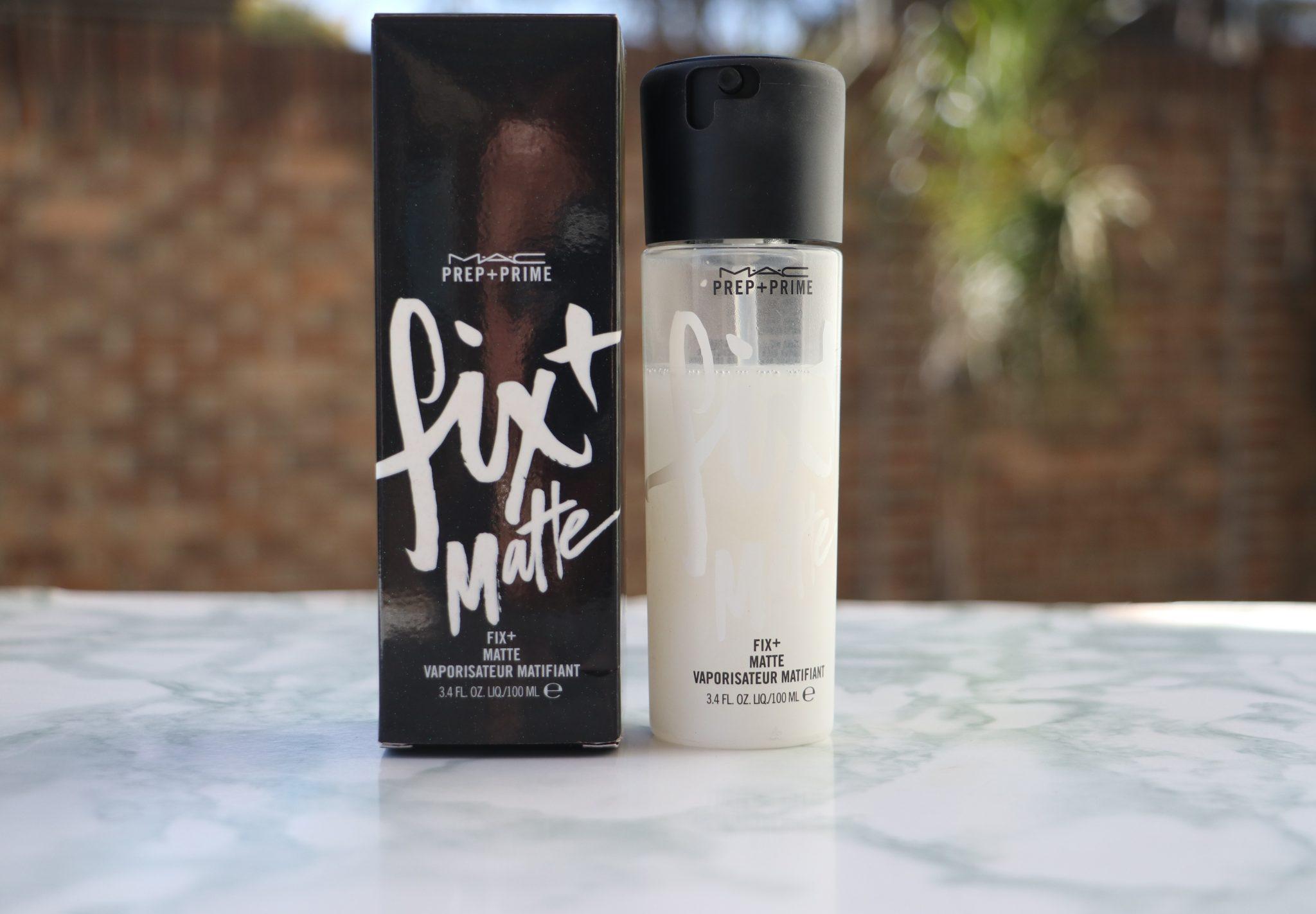 New Mac Cosmetics Prep Prime Fix